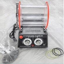 Kt2000 ювелирные изделия стоматологический Алмазный роторный стакан 5 кг tumbing полировщик полировка Чистка полировка гравировка машина роторный двигатель
