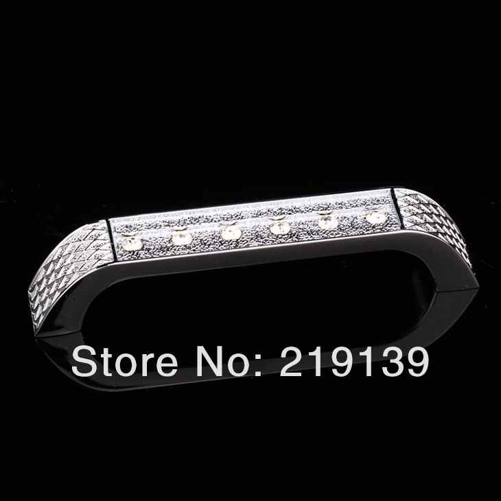 96mm Decorative Dresser European Diamond Crystal S Handles Gl