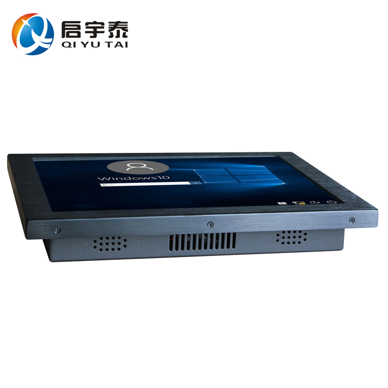 15 inch Industrial Panel Computer Wall Mounted All In One tablet PC touch screen Resolution 1024x768 with Intel D525 1.8GHz