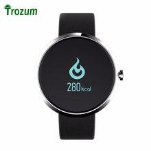 TROZUM V06 Смарт Браслет Артериального Давления Монитор Сердечного ритма Водонепроницаемый Смарт-Наручные Часы Смарт-Часы ДЛЯ ios android