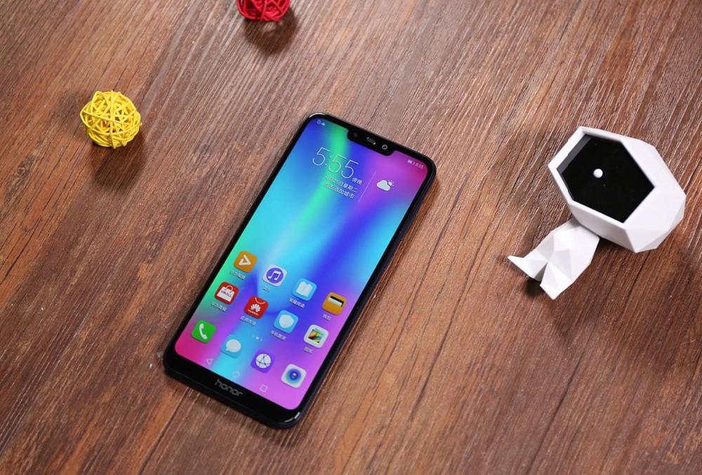 "Быстрая доставка DHL HuaWei Honor 8C 4G LTE мобильный телефон 8 ядер Android 8,1 6,26 ""iPS 1520x720 4G B Оперативная память 6 4G B Встроенная память отпечатков пальцев"