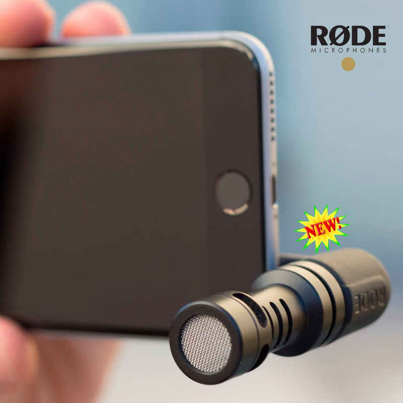 ФОТО Rode VideoMic Me Compact Mini Directional Microphone for iPhone 6s 6 plus smartphone Recorder Mic
