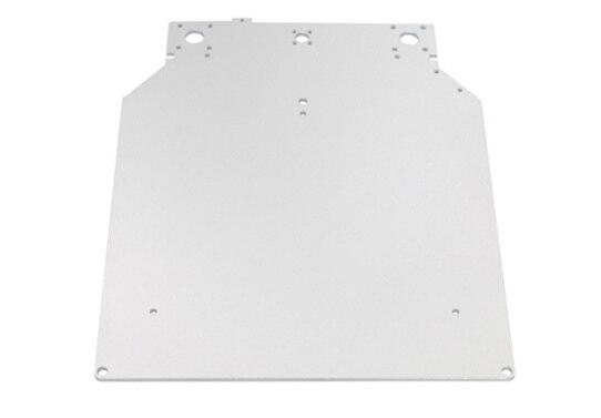 3D Принтер пескоструйной оксид горячей постели алюминиевая пластина 303*257*4 мм пластины отопление 303.5*257*4 мм Алюминиевая Пластина для Ultimaker Принтер