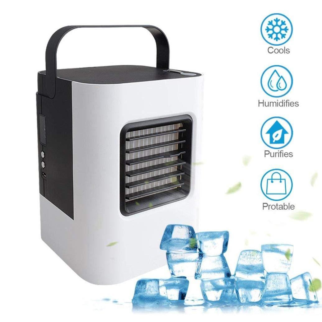 Inverseur USB chargeur climatiseur ventilateur Mini Portable réfrigérateur refroidisseur d'air