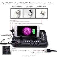 Multi Functional Car Navigation Mobile Phone Anti Slip Mat USB Charger For Mitsubishi Outlander Lancer 10