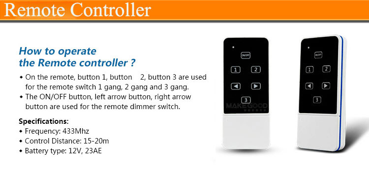Smart-Home-Wireless-Universal-Remote-Controller-Frequency-433mhz-RF-Remote-Distance-20M-Wall-Light-Switch-Controller