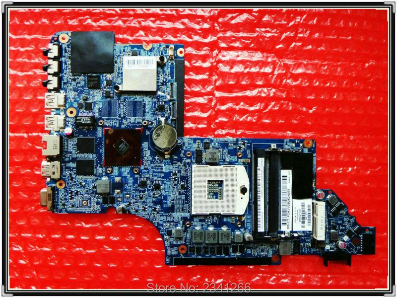 ФОТО 665346-001 for hp Pavilion DV6-6B DV6-6C DV6-6000 laptop Motherboard for intel cpu  HM65 HD6490/1G 100%   Free Shipping test OK