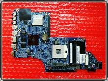 665346-001 for hp Pavilion DV6-6B DV6-6C DV6-6000 laptop Motherboard for intel cpu HM65 HD6490/1G 100% Free Shipping test OK