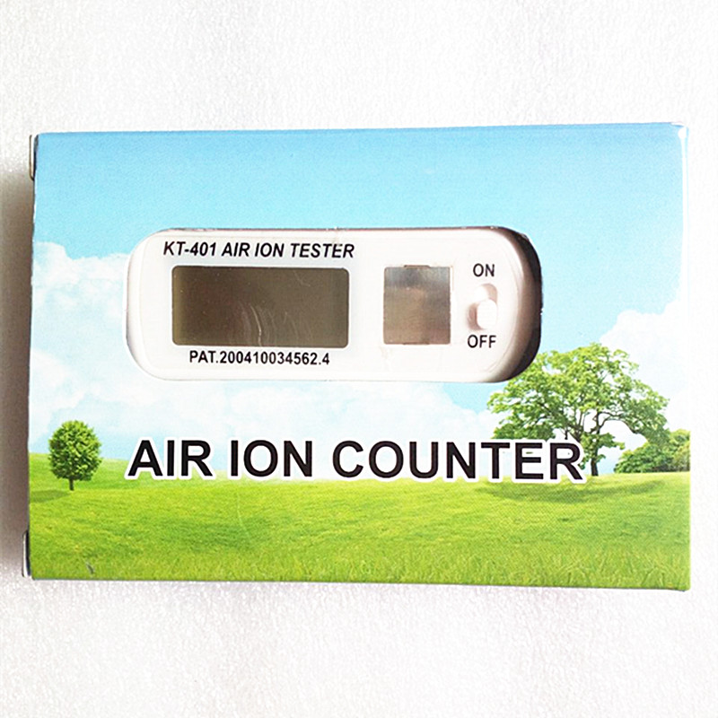 KT 401 AIR Aeroanion Tester ion meter aeroanion detector Negative oxygen ions anion concentration detecto Auto