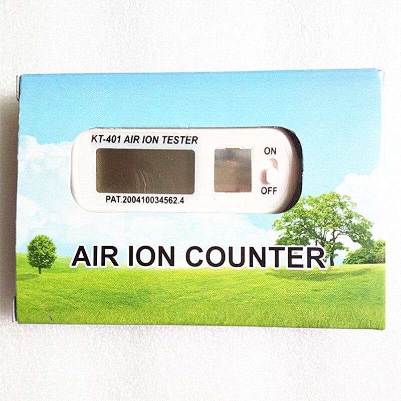KT-401 воздуха счетчик аэроионов ионный метр аэроанион детектор отрицательные ионы кислорода анион концентрация detecto автомобильный очистите...