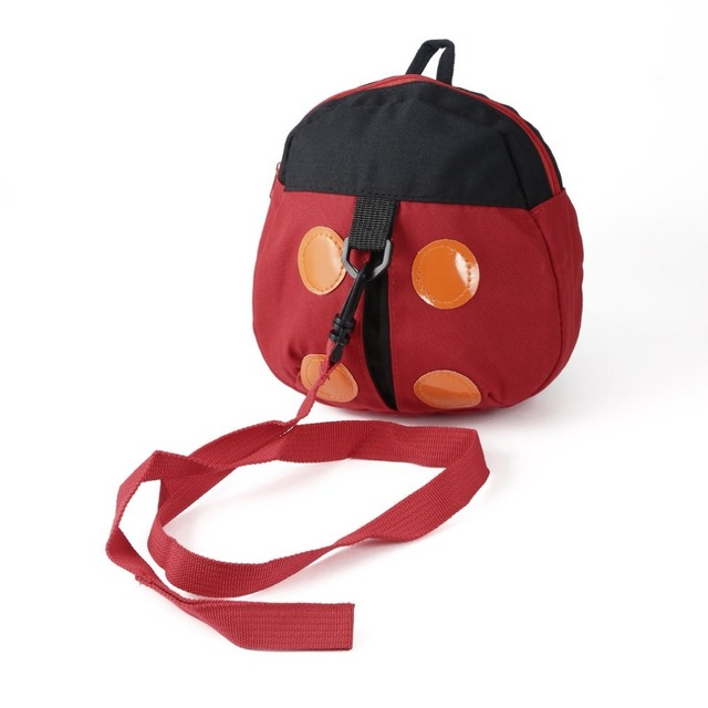 574d2f9022 Toddler Backpack Cute Ladybug Anti lost Kids Baby Backpack Cartoon Children  Walking Safety Harness With Strap