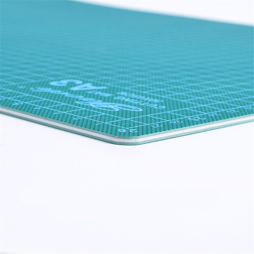 new Cutting Mat A3 Pvc Rectangle Self Healing thicker white core  Desktop Protection Mat Craft Dark Green 45cm * 30cm*0.3cm pvc rectangle self healing cutting mat tool a4 craft dark green 30cm 22cm