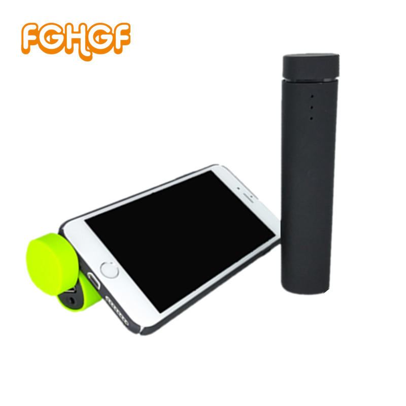 FGHGF Crazy 3 in 1 Music Player Speaker Phone Power Bank Stand Holder