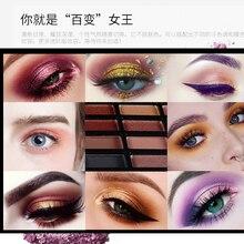 Eyeshadow Palette 16 Color Makeup Eye Shadow Shimmer Matte High Pigmented Long Lasting Make up Eye Shadow Cosmetics Eyes Makeup цена 2017