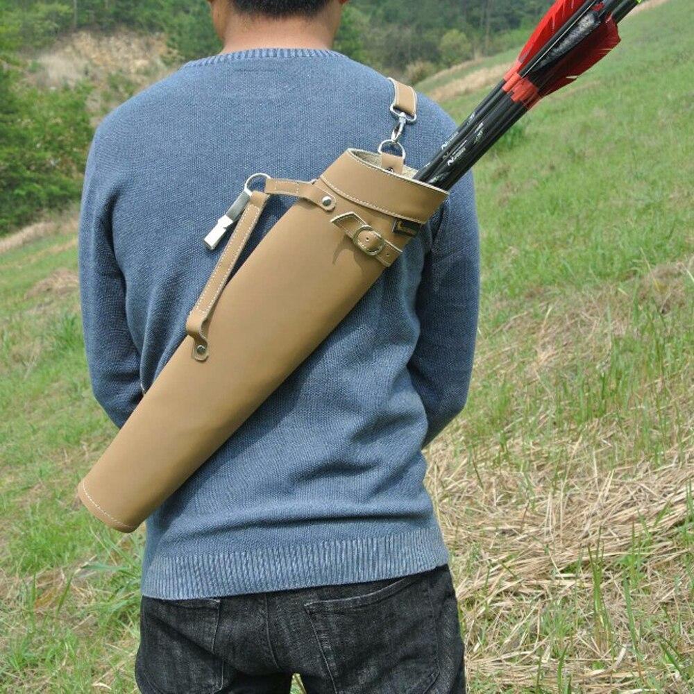 ombro-back design feito de couro puro para tiro com arco de caça