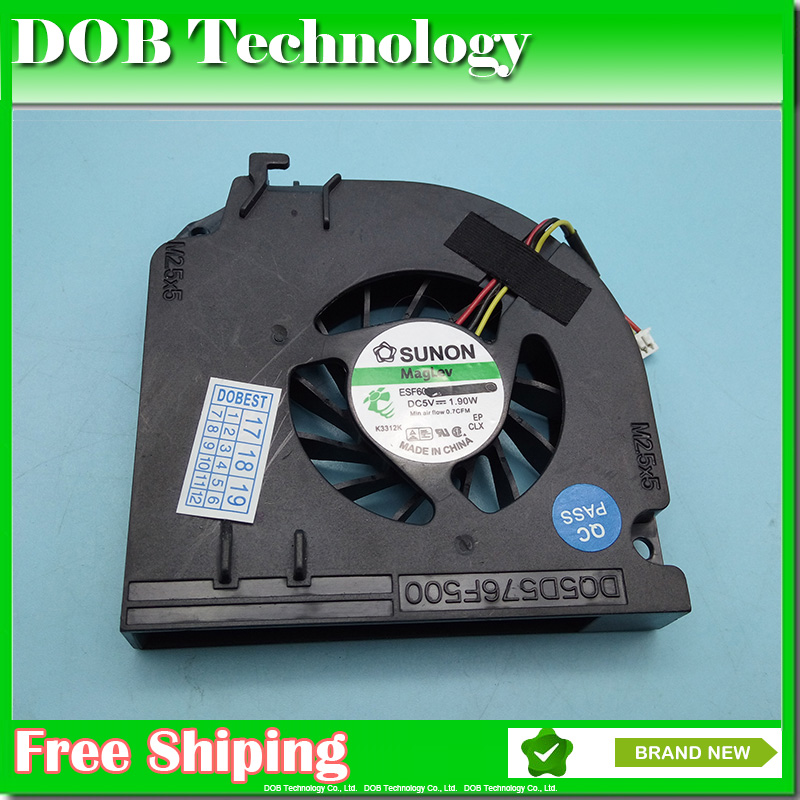 Sweet-Tempered Nieuwe Laptop Cpu Koelventilator Voor Dell Latitude D830 D820 Cpu Cooler D531 M65 M4300 Np865 Fan