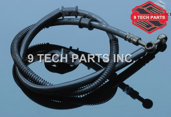FREE SHIPPING OEM QUALITY GN250 Front Braided Brake Lines Hoses Stainless Steel Braided Brake Hoses 59480-37362