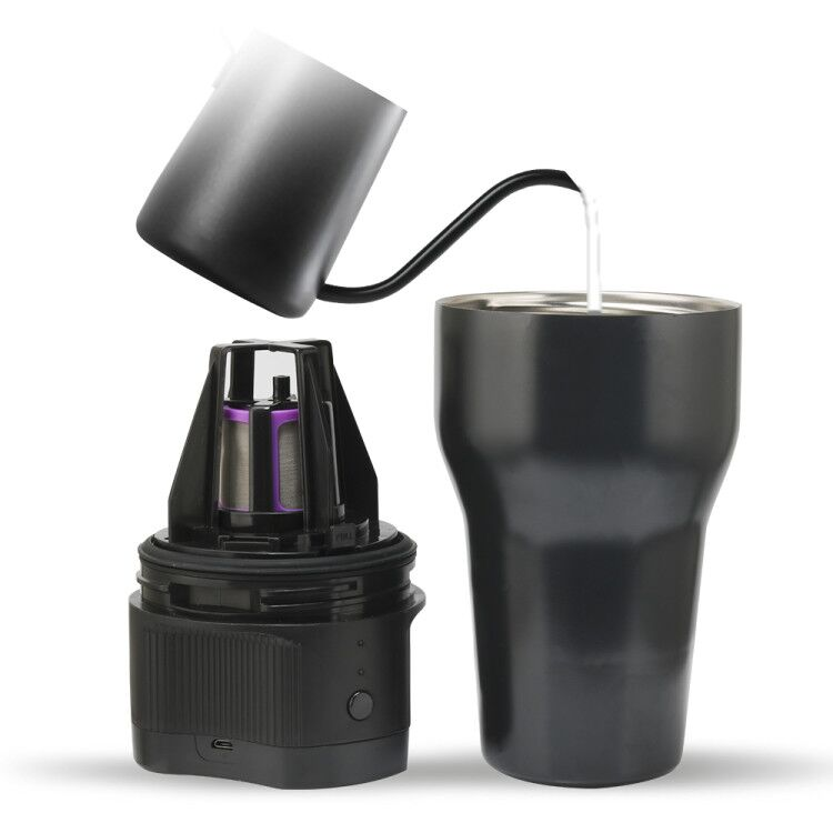 Icafilas Travel Camping Outdoor Portable K Cup Coffee Machine