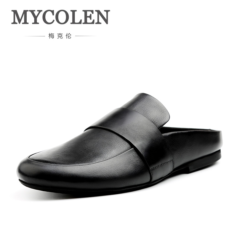 MYCOLEN Beach Slippers New Fashion Men Light Weight Breathable Male Slipper Comfortable Outdoor Shoes Slippers Men Summer