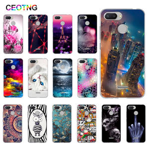Soft Silicone Case for Xiaomi Redmi 6 Cover Shells TPU Back Phone Cover