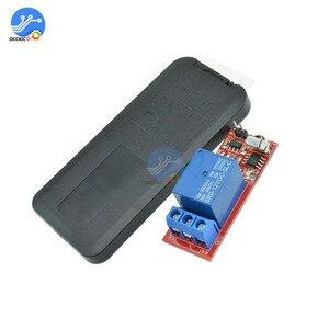 Image 5 - DC 5 в 12 в 1 канал пульт дистанционного управления релейный модуль ИК умный переключатель универсальный контрольный Лер для ворот гаражных ворот