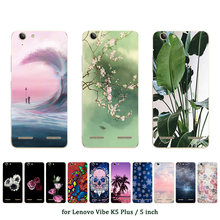 Soft TPU Case for Lenovo Vibe K5 Plus Silicone Cover Back Phone Cases Coconut Printed for A6020 / A6020a46 / Lemon 3 Shell(China)