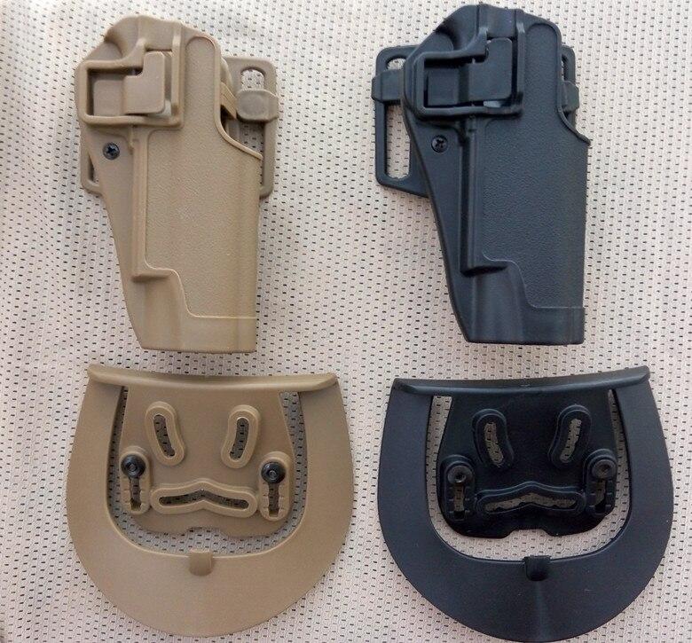 Высокое качество Black hawk Стиль CQC 1911 Кобура Тактический жесткого нейлона Кобуры 100% натуральная для Армия