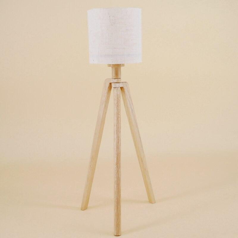 G05-X5163 enfants cadeau jouet 1:6 maison de poupée mini ob11 Miniature rement nordique lampadaire en bois 1 pièces