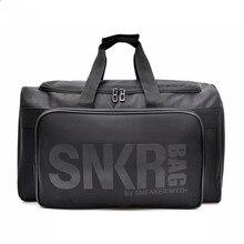 Мужские и женские кроссовки спортивная сумка водонепроницаемый куб для упаковки Органайзер двойная молния непромокаемая сумка, Полиэстер оптом баскетбольная сумка