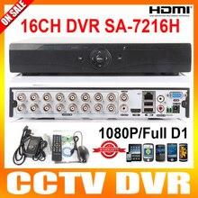 Обновление 16Ch 960 H Full D1 Запись в Реальном времени Воспроизведения С HDMI 1080 P Выход 16-канальный Гибридный ВИДЕОРЕГИСТРАТОР NVR Onvif ВИДЕОНАБЛЮДЕНИЯ DVR рекордер