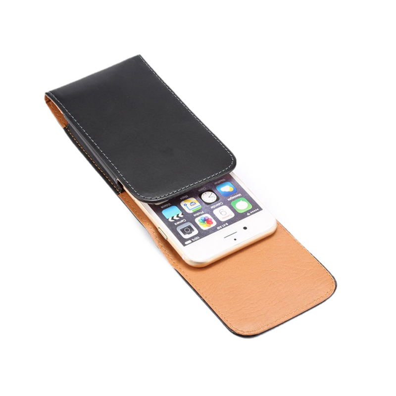 Apple iPhone 7 üçün PU Dəri Çanta Kəmər Klassik Holster, - Cib telefonu aksesuarları və hissələri - Fotoqrafiya 5