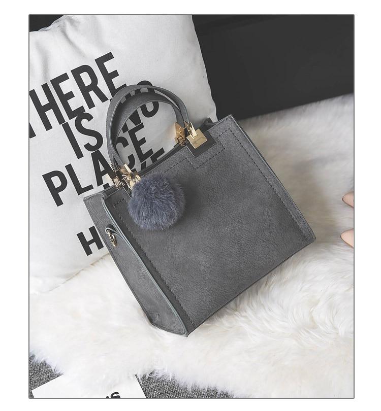 Сумка LANLOU, женская сумка на плечо, роскошные сумки, женские сумки, дизайнерская Высококачественная кожаная сумка-почтальон с помпонами, женская сумка
