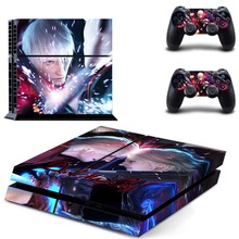 Vinyl Sticker PS4 Skin Decal Sticker For PlayStation4 Console and 2 controller skins – Devil May Cry