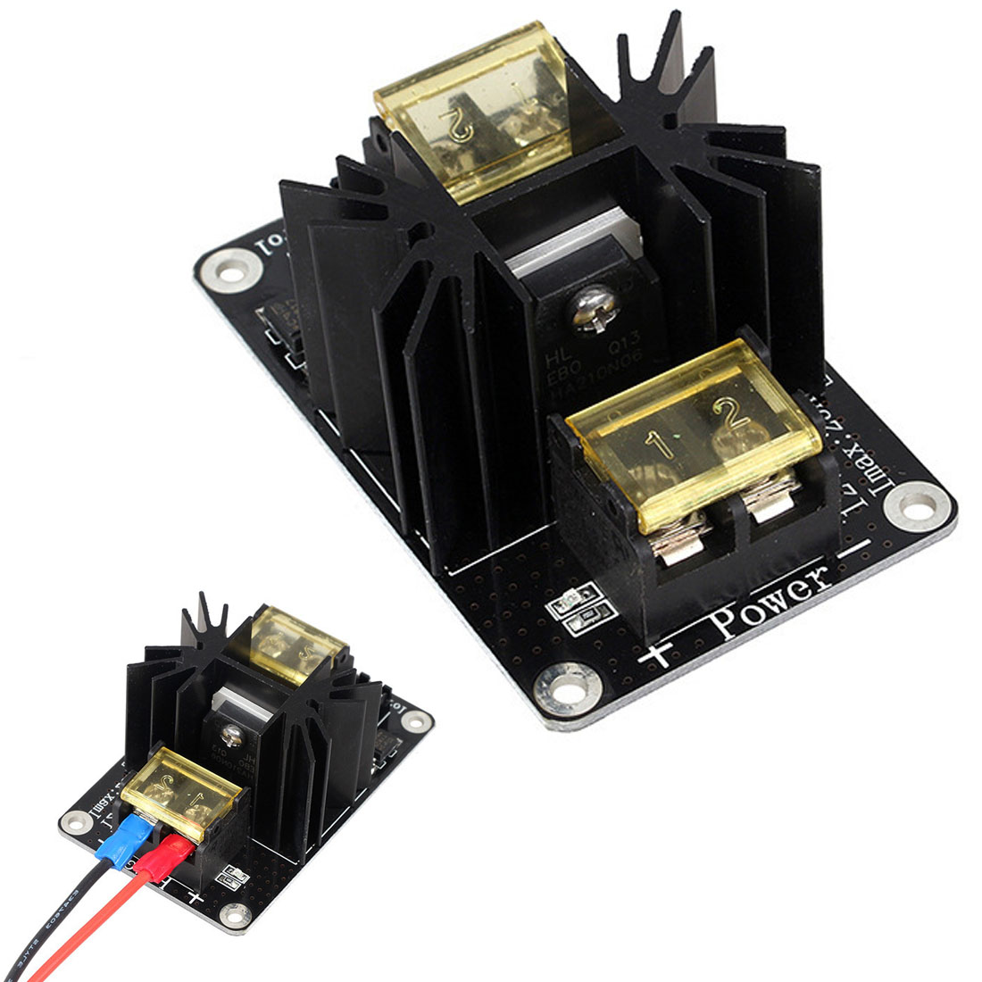 Etmakit New 3D Printer Parts General Add-on Heated Bed Power Expansion Module High Current 210A MOSFET Upgrade RAMPS 1.4 EM88 цены онлайн