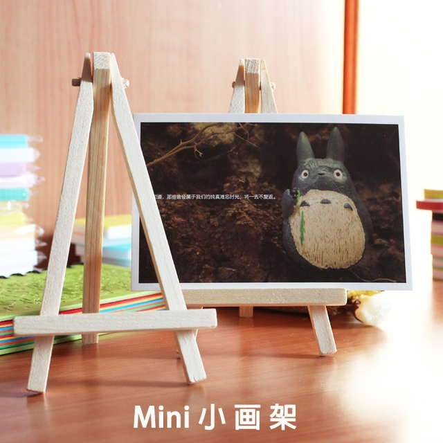 lifemaster mini wood painting easel 9 16 cm for photo painting