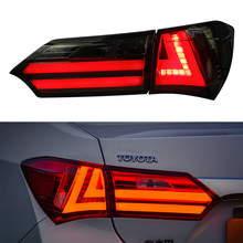 цена на car styling for Toyota Corolla taillight 2014 2015 2016 2017 Altis LED Taillight Rear fog Lamp Parking Brake Turn Signal Lights