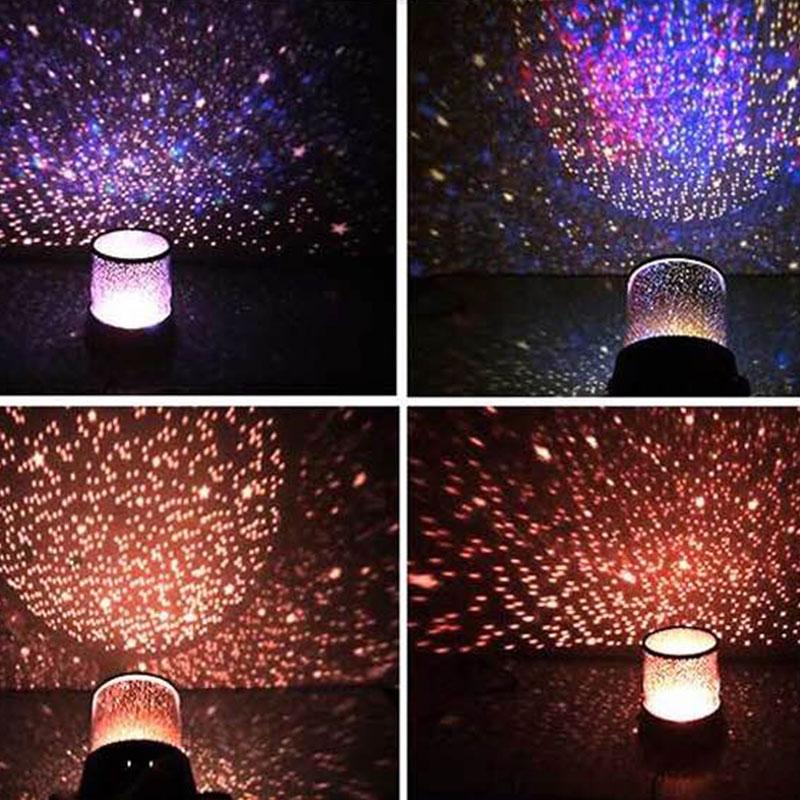 Светодиодный ночной Светильник звездное небо Magic Star Moon планета пространство лампой Вселенной декоративные настольные лампы для любимой, подруги подарок для детей