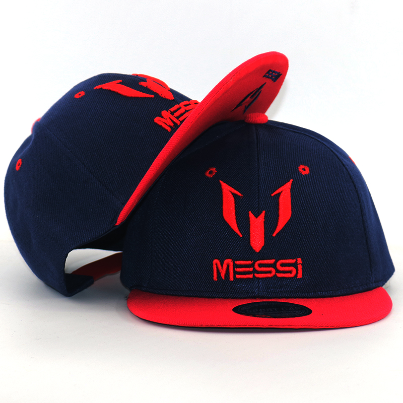High Quality Argentina Football MESSI snapback   Baseball     Cap   Kids Children   caps   Adjustable Soccer Messi Hip Hop Hat all matched