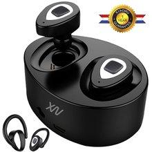 Original XIAOWU k5 K2 mini Headset wireless bluetooth earphone Binaural earbud with Mic Charging Box for