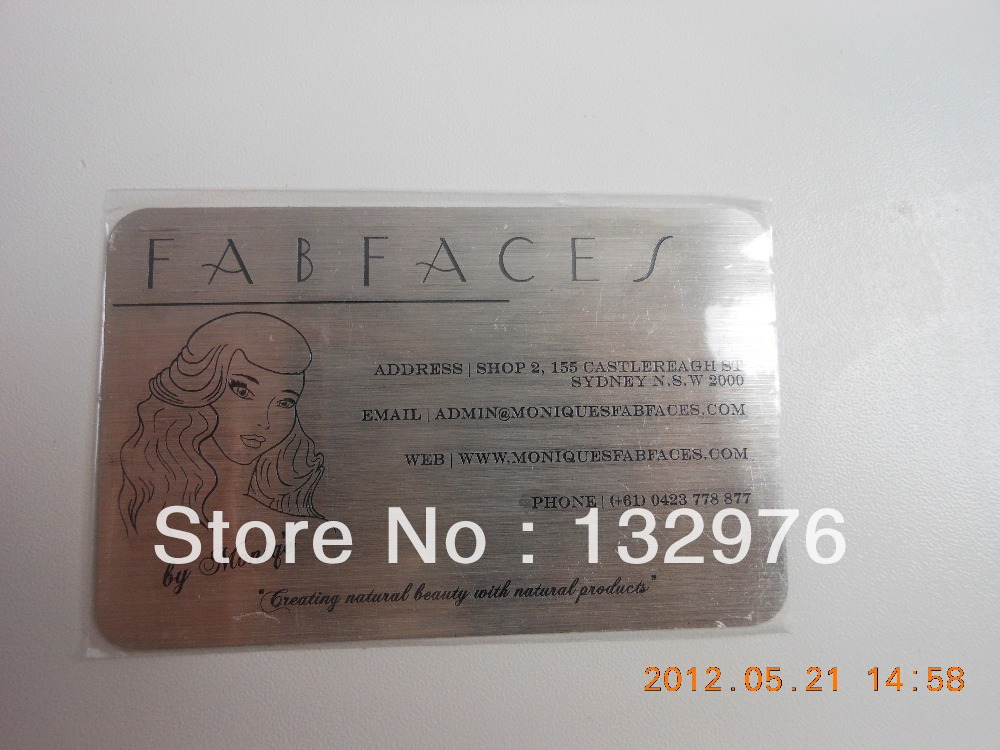 High quality metal business cards and plastic cards supply-in IC/ID ...