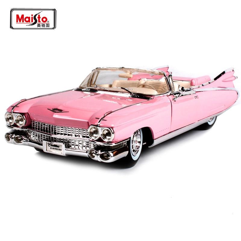 Maisto 1 18 1959 Cadillac Eldorado Biarritz Diecast Model