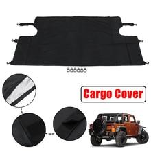 Автомобильный багажник Грузовой багаж тенты Крышка для Jeep/Wrangler JKU Спорт сахара 4 двери 2007-2017