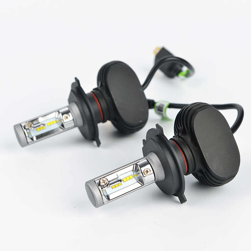 LDDCZENGHUITEC Car Headlight  H4 H11 H13 9005/HB3 9006/HB4 H7 CREE Chips Far & Near Led Headlight Bulbs Fanless Auto 6500K