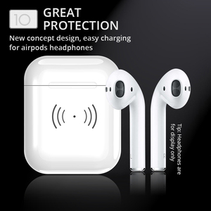 Image 5 - Wireless Charging Box For Airpods Apple Bluetooth Earphone Airpods Charger House Perfect Match Apple Headset Wireless Charger