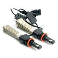 2016 New 1 Pair 40W 6000LM H9 LED Headlight Kit Car Driving Lamp Bulbs 6500K Cool