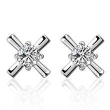Best selling new style 925 sterling silver earrings fashion zircon accessories women's jewelry birthday gifts