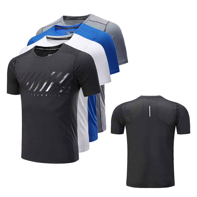 Men T Shirt Running Sports Quick Dry Tight Outdoor Bodybuilding Compression font b Fitness b font