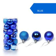 30mm Christmas Xmas Tree Ball Bauble Hanging Home Party Ornament Decor