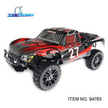 RC CAR TOYS HSP 1/8 SCALE 4WD OFF ROAD NITRO GASOLINE SHORT COURSE TRUCK 21CXP ENGINE SIMILAR HIMOTO REDCAT (ITEM NO. 94763)