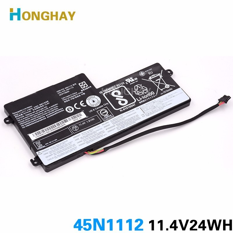 HONGHAY 45N1112 45N1113 original laptop <font><b>battery</b></font> for <font><b>Lenovo</b></font> Thinkpad X240 X240S X250 X250S <font><b>T440</b></font> T440S T540 45N1108 45N1109 image
